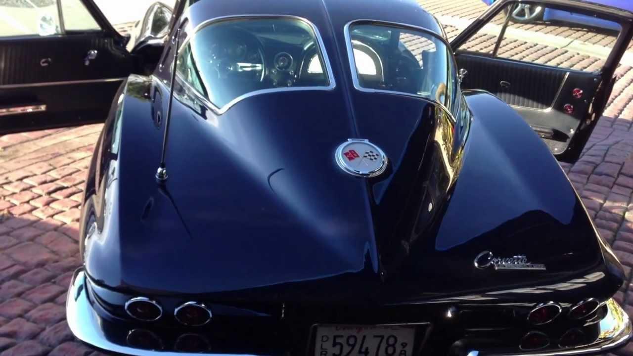 1963 Corvette For Sale Numbers Matching Daytona Blue Split