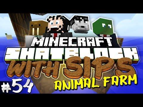 Minecraft: Skyblock With Yogscast Sips #54 - Animal Farm video