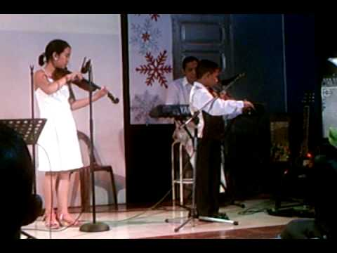 Above All (powers) Violin Duet video