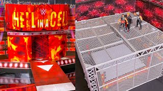 WWE HELL IN A CELL 2019 ACTION FIGURE ARENA TOUR!