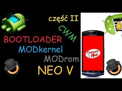 Sony Xperia Neo V MT11i - unlock bootloader. modkernel. modrom (update to KitKat 4.4)