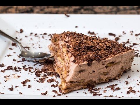 No Bake Nutella Cream Cake -Nutella krémtorta