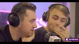 Sam Smith and Disclosure talk Omen & Latch collabs