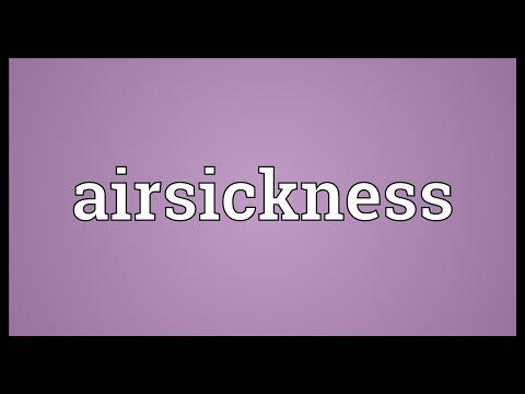 Header of airsickness