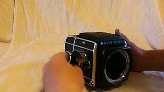 Rolleiflex SL66 operation and features