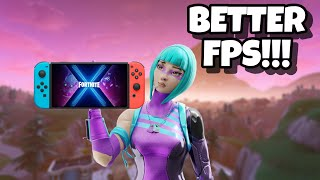 Nintendo Switch Fortnite FPS Settings! 60 FPS