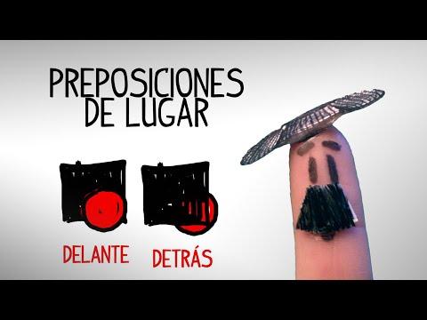 Preposiciones Y Adverbios De Lugar. Videos Aprender Español