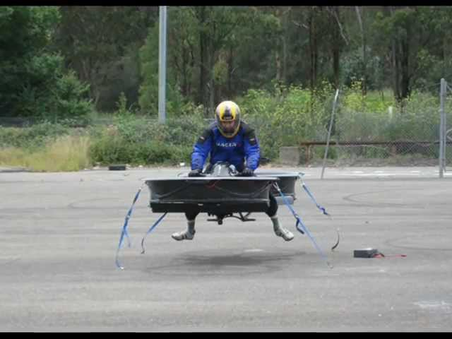 Inventor Begins Testing a 'Star Wars' Hoverbike  WWW.GOODNEWS.WS