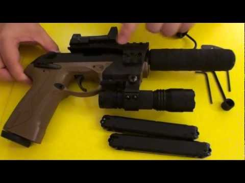 Beretta Px4 Storm Recon Co2 Pellet Gun Review