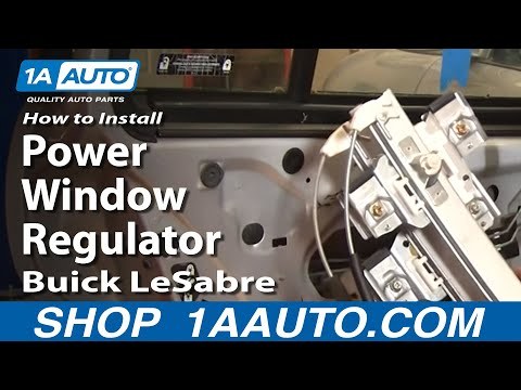 How To Install Replace Rear Power Window Regulator Buick LeSabre 00-05 1AAuto.com