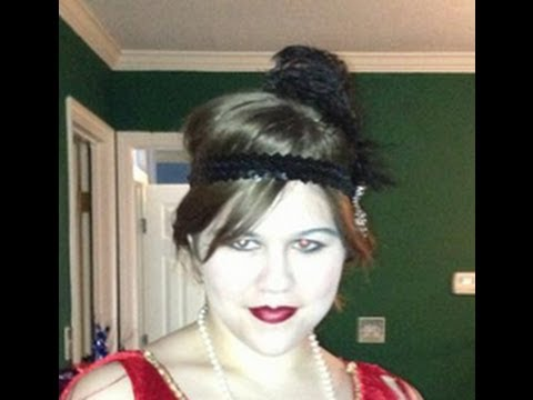 AMY AMY - 1920s Flapper Hairstyle Tutorial