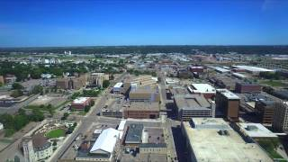 Drone Flight 9/12/15 - Sioux city downtown