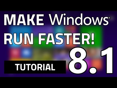 How To Make Your Windows 8.1 Faster In Just 7 Easy Steps | 100% FREE & SAFE