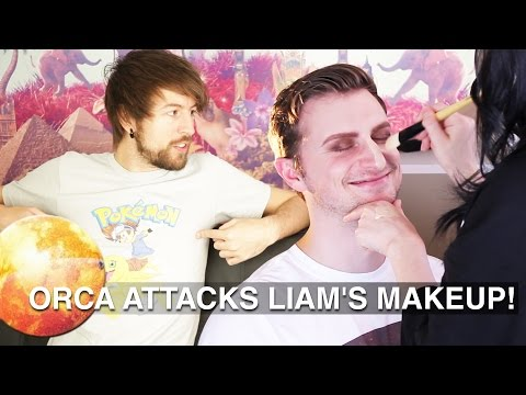 ORCA ATTACKS LIAM'S MAKEUP!
