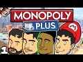 IT'S MONOPOLY TIME! (Monopoly Plus w/ The Derp Crew - Part 1)