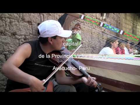 Huayno Ayacuchano - Huancapi con Arpa y Violin