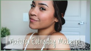 EVERYDAY MAKEUP ROUTINE! NO-MAKEUP MAKEUP TUTORIAL! | Maria Bethany