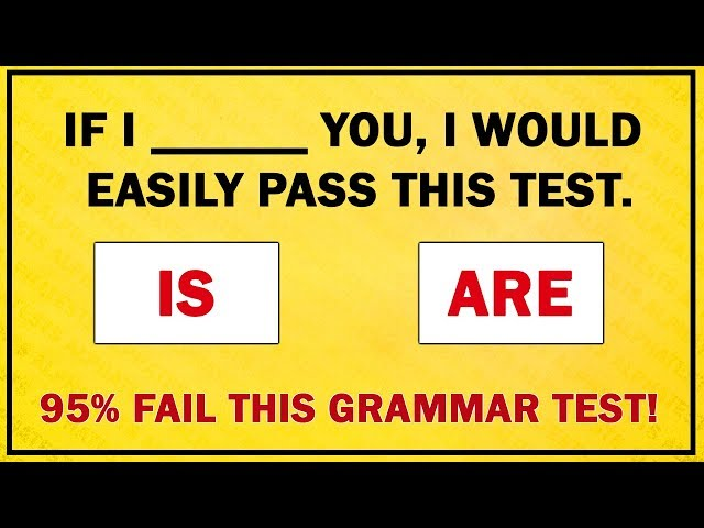 Can You Get A Perfect Score On This Grammar Quiz?