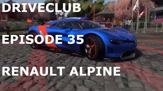 DRIVECLUB-Episode 35(RENAULT ALPINE A110-50)