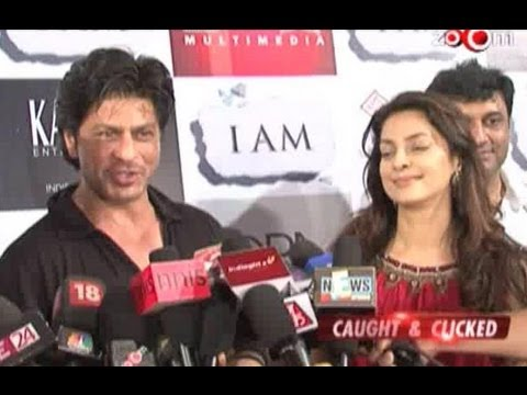 Shahrukh Khan supports Juhi Chawlas film
