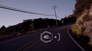 BMW Motorrad helmet with head-up display
