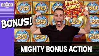 🤑 More Mighty BONUS Time 💰 $1500 @ San Manuel Casino ✪ BCSlots (S. 18 • Ep. 3)