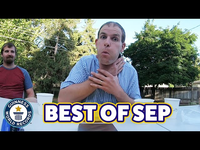 What39s the best record this September? - Guinness World Records
