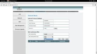 Reliance Jio 4G MiFi JioFi Device Apply MAC addresses filter