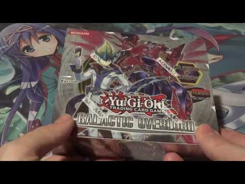 Yugioh Galactic Overlord 1st Edition Booster Box Opening!