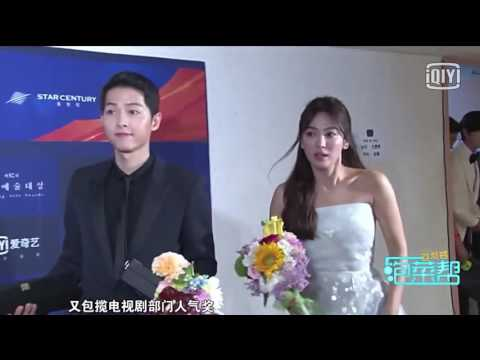 160609 송중기 송혜교 송송커플 Song Joong Ki Song Hye Kyo Song Song Couple Baeksang Art Awards Backstage cut