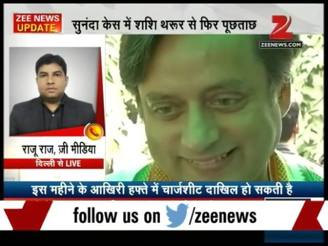 Shashi Tharoor questioned for five hours by Delhi Police