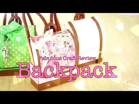 DIY - Fabulous Craft Review:  Doll Backpack - Handmade - Doll - Crafts