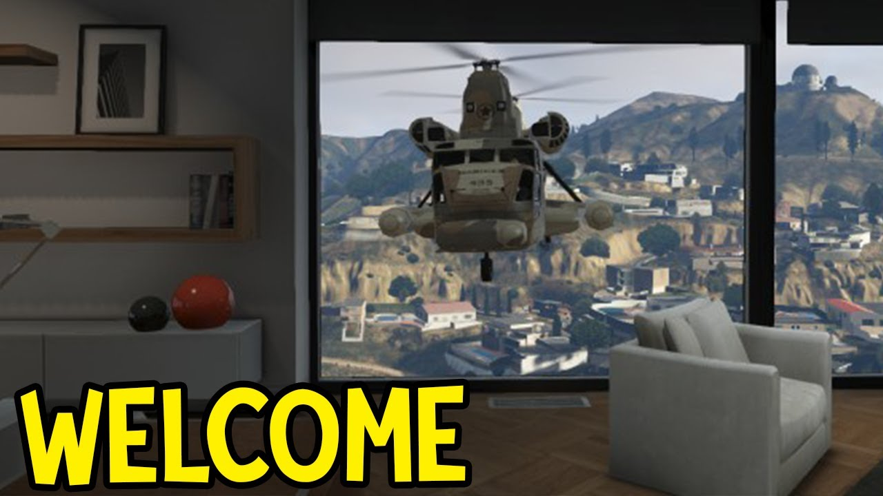Gta 5 online 400 000 garage apartment tour stimulus for Designer apartment gta 5