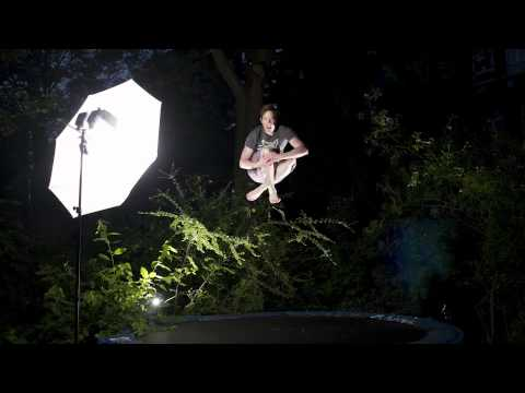 "BTS - Dan Coffey photoshoot ""Trampoline Composite"""