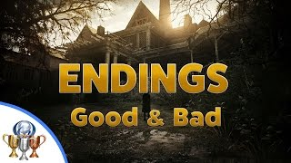 Resident Evil 7 Ending #1 and #2  - Good and Bad Endings, How To Get Both - Final Cutscenes