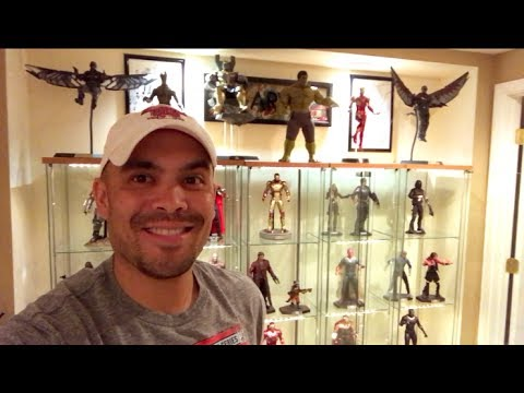 Episode 150 - MY HOT TOYS COLLECTION and TOUR!!  PART 1 - MARVEL FIGURES