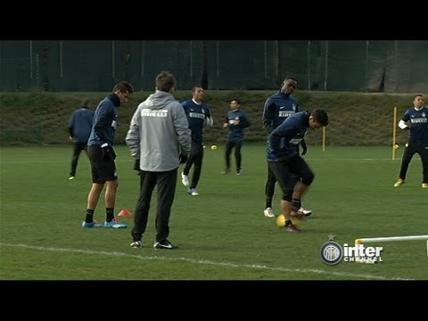 ALLENAMENTO INTER REAL AUDIO 20 02 2014