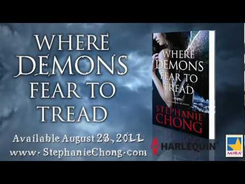 Where Demons Fear to Tread Book Trailer