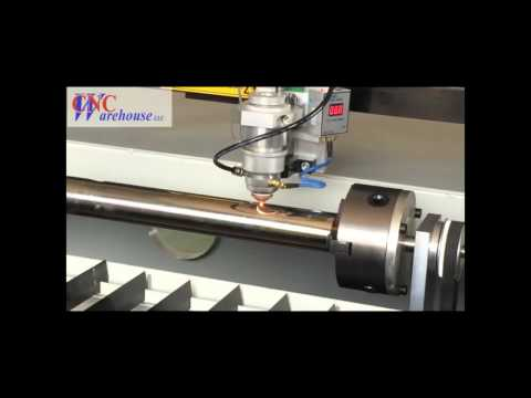 CNCWL-5198-M-150-R Rotary metal cutting with a 150W Laser