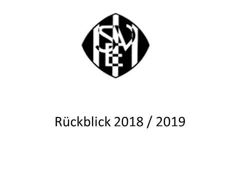 Rückblick SVE 2018/2019