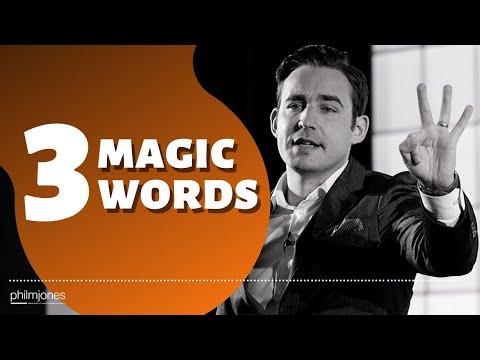 Magic Words by Phil M Jones