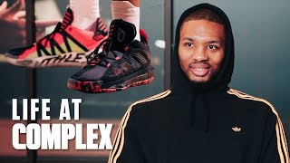 Damian Lillard Unveils Dame 6's And Shares Untold Stories! | #LIFEATCOMPLEX