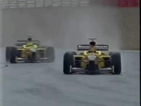 Jordan team orders at Spa 1998