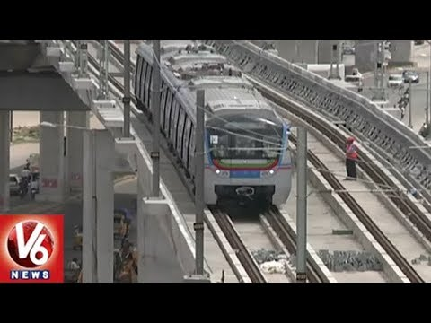 Hyderabad Metro Rail Officials Speed Up Phase II Works | V6 News