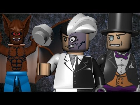 LEGO Batman 2 : DC Super Heroes Bonus Episode  #2 - Two-Face, Penguin & ManBat