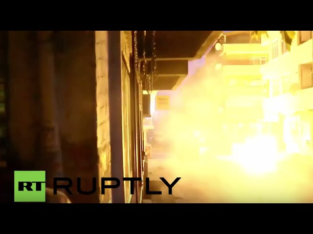 Turkey: Explosions light up Istanbul night as PKK youth clash with police