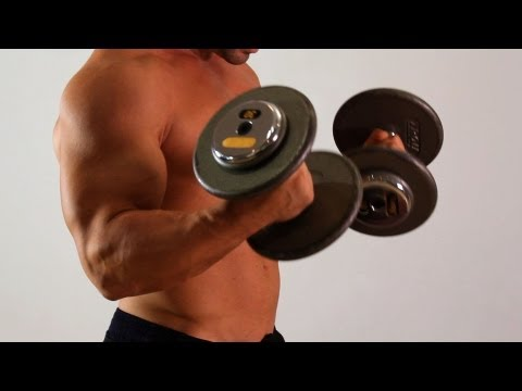 Dumbbell Biceps Curl | Home Arm Workout for Men Image 1
