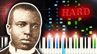 Scott Joplin Maple Leaf Rag Piano Tutorial