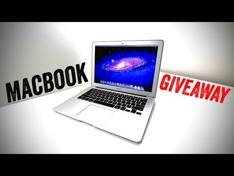 New Macbook Air Giveaway! [OPEN]