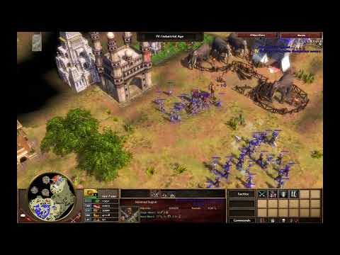 Into the Punjab - India M1 - Hard Walkthrough - Age of Empires III Asian Dynasties